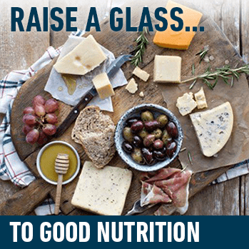 Raise a glass... to good nutrition