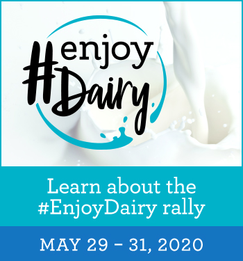 Learn more about the #EnjoyDairy Rally - May 29 - 31, 2020